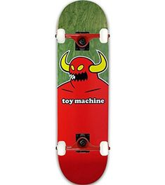 c2d837bd080 Toy Machine Skateboard MONSTER XL (ASSORTED COLORS) 8.5