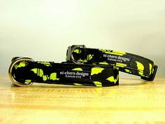 Handmade Dog Collar - Batman by Ni-Chern Designs
