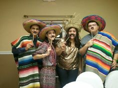 Have the guests take lots of pictures using all the props, fake mustaches, sombreros, sarapes, flowers, etc...