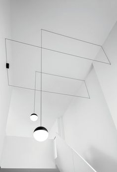 Suspension LED STRING LIGHT - TÊTE SPHÉRIQUE - FLOS