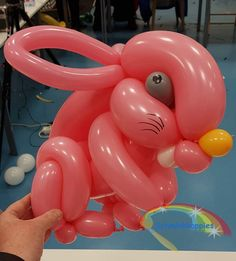 Ballon konijn  Schminkkoppies Mariëlle Heuft