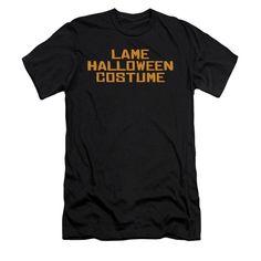 Lame Halloween Costume Adult Slim Fit T-Shirt