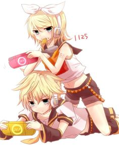 My dream relationship is based off an anime couple.. I'm a sad lonely girl, lol.  Rin and Len from vocaloid soooo cute!