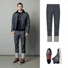 Shop at www.contreboutiques.com  Dynamic and urban style in black and denim. #HOGAN jeans and Route X shoes.  #shoes #sexyguy #denim #ootd #cool #love #beautiful #instadaily #fashion #fashionista #fashionable #fashionablestyle #instagood #instafashion #stylish #instastyle #manfashion #menswear #instamood #gentleman #gentlemen #menfashion #outfit #outfitoftheday #shopping #contreboutiques