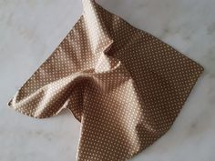 Handmade Pocket Square Handkerchief 100% Cotton Taupe brown white polka dot… Pocket Square, Taupe, The 100, Polka Dots, Brown, Cotton, Handmade, Accessories, Beige