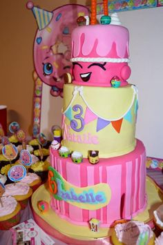 Our Shopkins Cake!