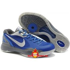 detailed look 6eb32 9d767 Nike Zoom Hyperdunk 2011 Low Blake Griffin PE Cool Grey Royal Blue Silver  487637 401