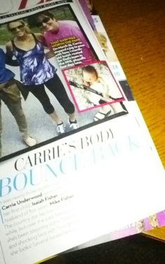 Not that great of picture but this is in OK magazine dated June 1 on page 64. This is a month after Isaiah was born. :)