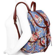 Olsenboye® Floral Canvas Backpack - jcpenney