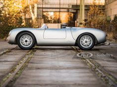 1956 Porsche 550 RS Spyder by Wendler Porsche 550, Vintage Racing, Vintage Cars, Porsche Service, Roadster Car, Race Around The World, Racing Events, Cool Eyes, Le Mans