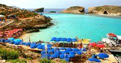 Blue Laguna op Comino in Malta