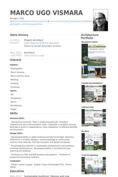Gallery of the top architecture rsumcv designs 4 architect project architect resume example yelopaper Gallery