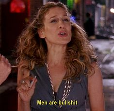 Carrie Bradshaw...You remind me of someone I know.