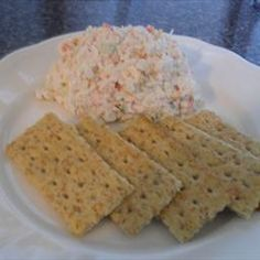 This is a cold crab dip recipe that is made with immitation crab meat. Being from Maryland, I know there is nothing like real Blue Crab chunks, but lets face it. it's expensive. Best Appetizers, Appetizer Recipes, Potluck Recipes, Poor Mans Recipes, Imitation Crab Recipes, Imitation Crab Salad, Maryland, Cold Dip Recipes, Milk Recipes