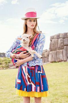 Teen Vogue, May 2009 Fotos: Arthur Elgort Model: Jessica Cline
