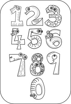 colouringbook.org COLOURINGBOOK.ORG kablam_number_animals_black_white_line_art_coloring_book_colouring_drawing-555px.png