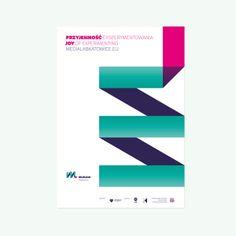 Medialab Katowice / Identity by Krafty , via Behance