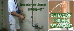 Detección de Salideros y fugas equipos modernos, reparaciones de tuberias