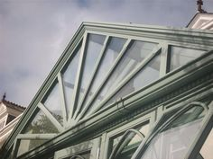 Some of the detail we can achieve on the windows and doors of timber orangeries