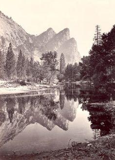 Yosemite National Park, California - Photo Taken in 1861
