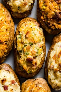Cheese Potatoes, Twice Baked Potatoes, Kitchen Recipes, Cooking Recipes, Cooks Country Magazine, Best Baked Potato, Donut Toppings, Best Thanksgiving Side Dishes, Breakfast Lunch Dinner
