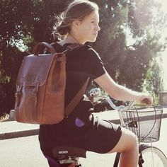 CANDEEIROS BACKPACK - size 1 - Brown Arizona    100% Portuguese vegetable  tanned leather 17e3e075f8
