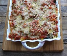 "<p>A pasta bake that mimics any meat lover's pizza, from Noble Pig. <a href=""http://noblepig.com/2013/01/penne-pasta-pizza-bake/"" target=""_blank"">Get the recipe here</a>.</p>"