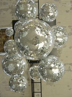Disco balls: 90% of all disco balls made in the USA are made in Louisville, KY!