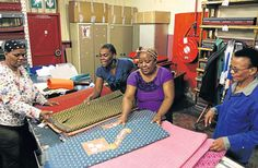 """SACTWU: """"Many companies are reporting having more orders. Some companies have been growing their number of employees,"""" said Eppel."""