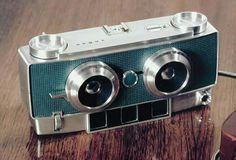 Antique Cameras, Old Cameras, Vintage Cameras, Stereo Camera, Movie Camera, Photography Camera, Photography Tips, Arte Robot, Classic Camera