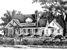 One of the houses I would like to build on our land in Middle TN. It's called Shook Hill and is from Southern Living House Plans.