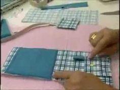 Passo a passo - Porta Celular - Fabricart Tecidos - YouTube