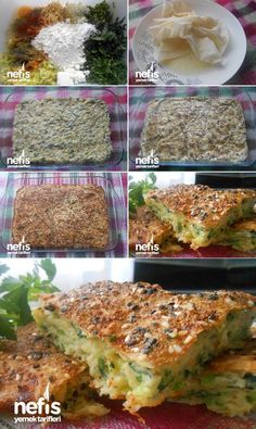How to Make Easy Vegetable Pastry Recipe in the Oven? Turkish Sweets, Wie Macht Man, Fresh Fruits And Vegetables, Pastry Recipes, Fish And Seafood, Veggie Recipes, Yummy Recipes, Make It Simple, Food And Drink