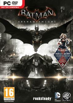 woohoo, nieuwe batman, maar wanneer... Batman: Arkham Knight PC cover art