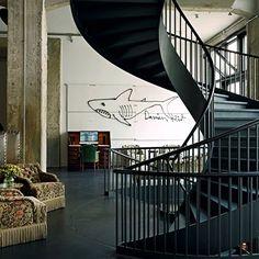 Soho House Berlin: Staircase