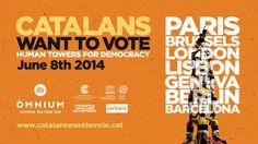 #CATALANSWANTTOVOTE #CASTELLS #CROWDFUNDING Diguem junts a Europa que els catalans volem votar. Ens proposem portar més de 1000 castellers a 7 capitals europees per reclamar el dret a decidir. El 8 de juny a les 12 h s'aixecaran simultàniament 7 castells i es desplegaran pancartes amb un lema democràtic directe i clar: #CatalansWantToVote. http://www.verkami.com/projects/8431-catalans-want-to-vote-human-towers-for-democracy Crowdfuinding verkami