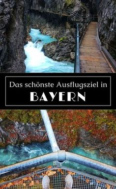 Leutaschklamm - The most beautiful destination in Bavaria & Tyrol! - The most beautiful destination in Bavaria & Tyrol! Destinations D'europe, Holiday Destinations, Cool Places To Visit, Places To Travel, Trailers Camping, Voyage Europe, Countries To Visit, Destination Voyage, Nightlife Travel