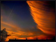 Tornado Sunset! (Explore 7/2/2012) by 'cosmicgirl1960', via Flickr