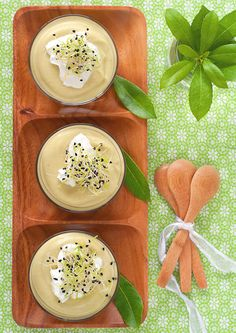 Avocado and Ginger Soup