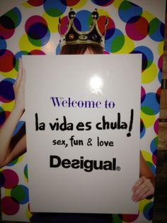 "#ihaveplan by desigual ""la vida es chula"" :)) #Loewe Effect | nethunting.es"