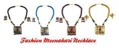 """Fashion Meenakari Necklace"" by mogul-interior ❤ liked on Polyvore"