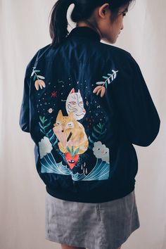 LIUNIC BOMBER JACKET by Jika Official x Liuniconthings <3