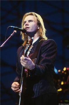 Sting, Philadelphia, 1988 © BOB GRUEN, 1988