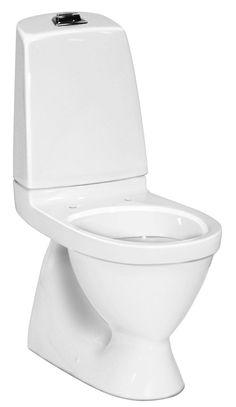 Gustavsberg-WC-istuin Nautic 5500, piiloviemäri, S-lukko, CeramicPlus (ilman kantta)-2