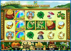Lucky 6 is a 10-line and 5-reel slot that comes with multiplying Rainbow Wilds and 6 unique Scatters that make up the name Lucky 6. For 4+ of such scatters the player wins up to 25 Free Spins with standard or mega grouped Wilds, extra Wilds and an x5 multiplier on top of all that. More at http://www.casinocashjourney.com/blog/lucky-6-slots-rtg/
