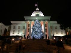 The State of Alabama Christmas tree