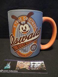 Disney Parks Authentic Oswald the Lucky Rabbit A True Original Ceramic Mug