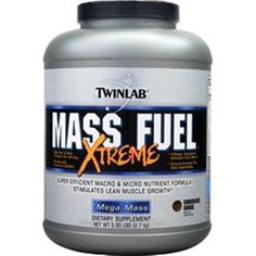 Buy a lot of 100% Original Supplements & save a lot more your body will be glad you did!  TWINLAB Mass Fuel Xtreme Chocolate Surge 5.95 lbs