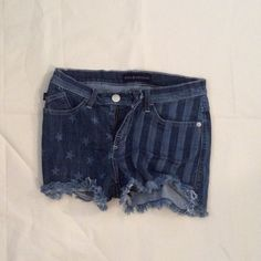 Rock and Republic jean shorts Rock and Republic Flag jean shorts. Never been worn. No trades! Thanks!! Rock & Republic Shorts Jean Shorts