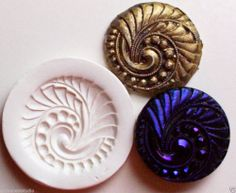 SPIRAL 5 ~ CNS polymer clay mold